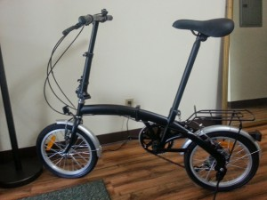 "APEX 16"" Folding Bike"