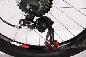 "Xspec 20"" 7 Speed City Folding Bike"