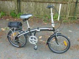 "Best Choice Products® Folding Bike 20"" Shimano"