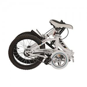 Mantis Flex 16 Folding Bicycle in White